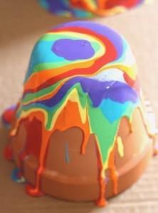 Pour Paint Pots