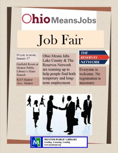 Job Fair Jan. 17
