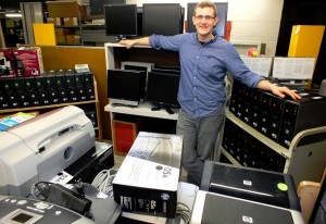 MPL Information Technology Manager Andy Gunsch will lead in the deconstruction of a computer during the first Make-It Monday on February 17 at Mentor Public Library's Main Branch.