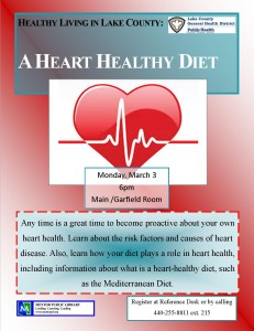 healthy heart health March 3