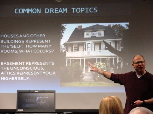 Lakeland Associate Professor Anthony Palermo explains the what buildings usually stand for in our dreams.
