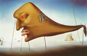 Salvador Dali Sleep