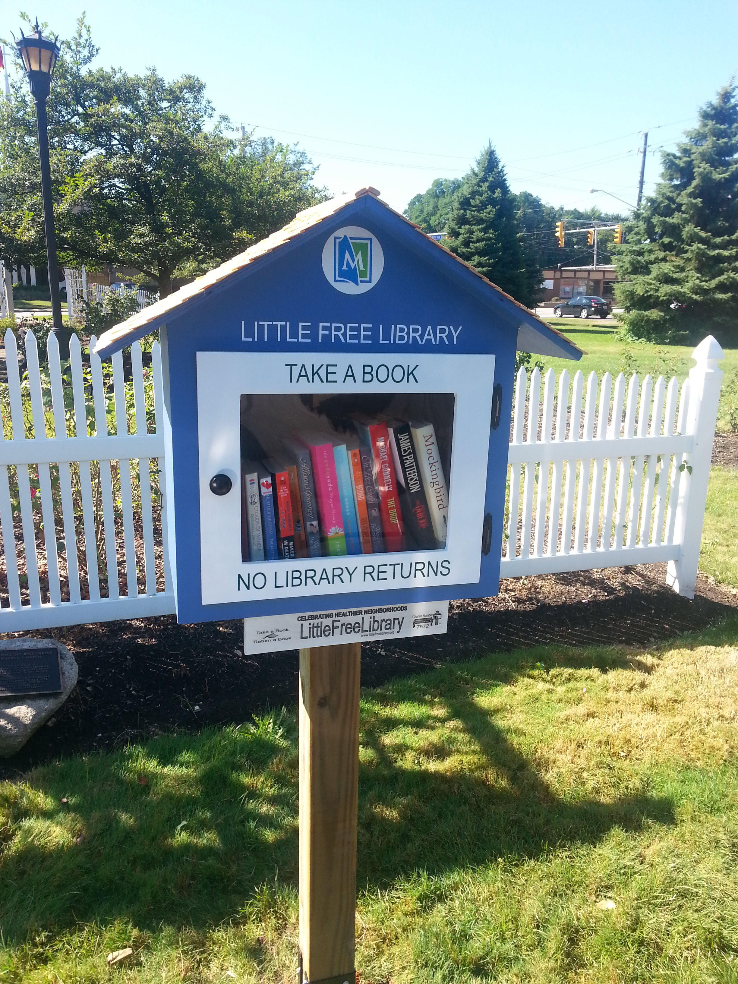 Little Free Libraries - Rose Garden