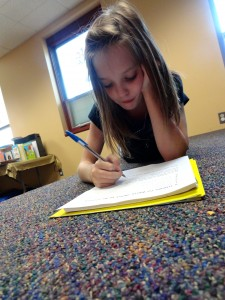 Julie Namciu writes where her imagination takes her.