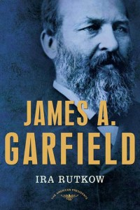 "The first read for the new book club is ""James A. Garfield"" by Ira Rutkow."