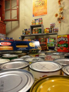 You donated hundreds of pounds of food to help your neighbors in need. Thank you!
