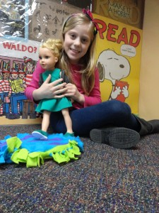 Summer brought Meredith to our American Girl Book Club meeting last Wednesday.