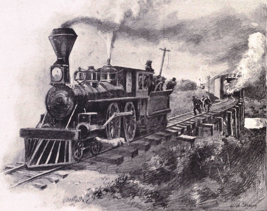 locomotive chase