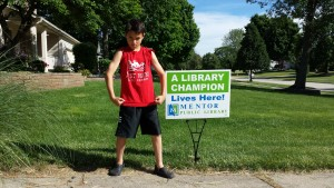 And when you get your awesome Library Champion sign, take a photo of yourself looking heroic with it and share it with us.