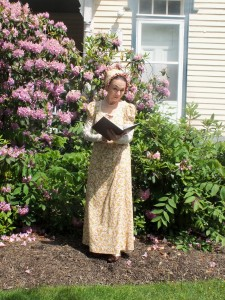 Meet Jane Austen. Or, rather, Meet Debra Ann Miller who will be appearing as Austen this Saturday at Mentor Public Library