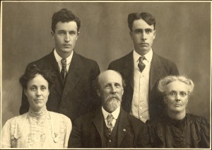 This probably isn't your family. But you CAN find out more about your family with the databases at Mentor Library.