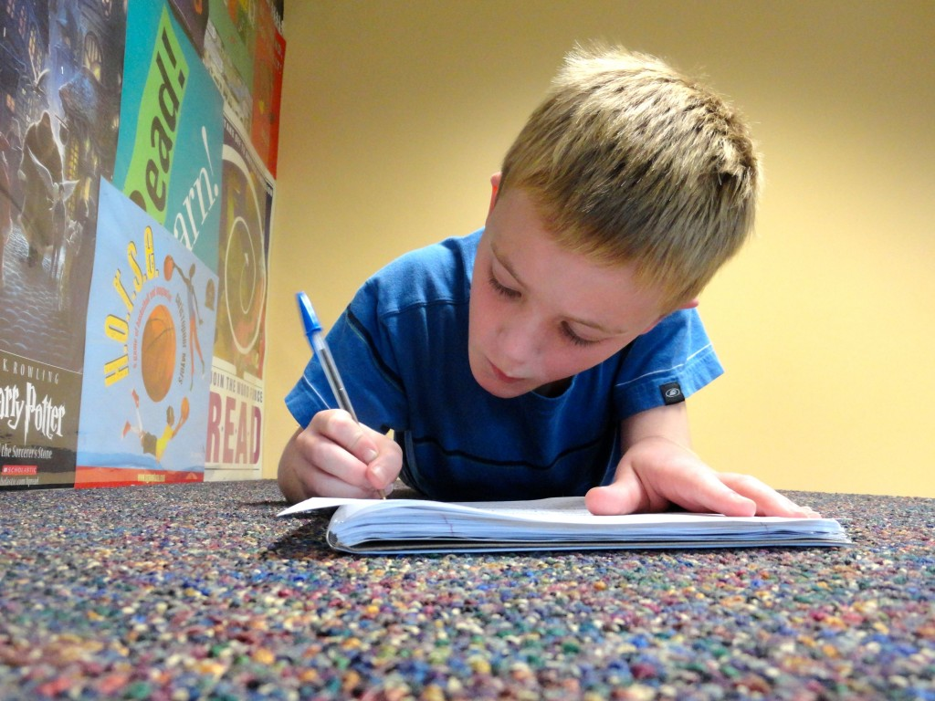 Young writers can hone their craft at our Write On club for teens or Wordplay club for younger kids.