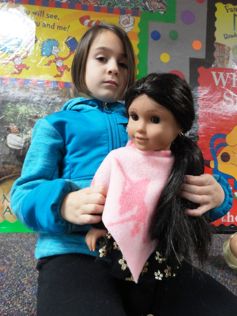 Our American Girl Book Club will meet two American Girls in January: Kaya and the newest American Girl, Mary Ellen.
