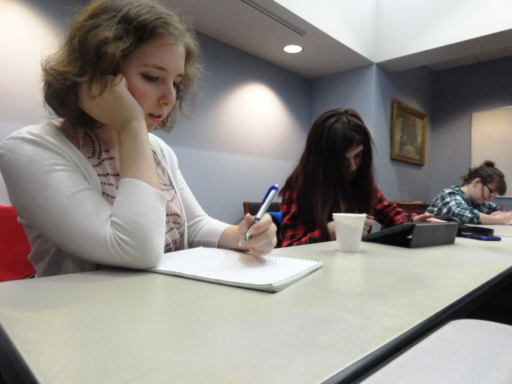 Teens can hone their writing skills at our Write On Club.