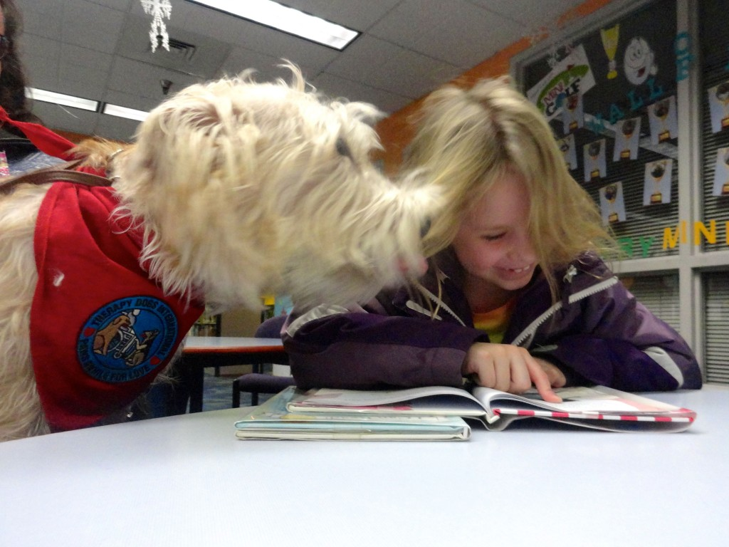 ...and sometimes they go for a kiss like Hattie here.