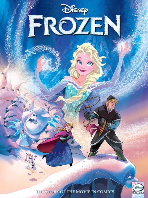 Frozen is only the tip of the iceberg—see what we did there—when it comes to Disney comics on Hoopla.