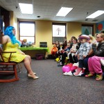 The only thing better than story time is story time while in costume.