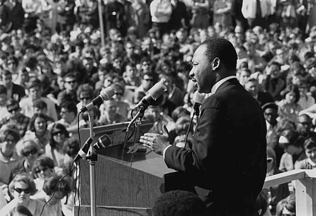 Learn about Martin Luther King Jr. with a dozen different books, documentaries and audiobooks.