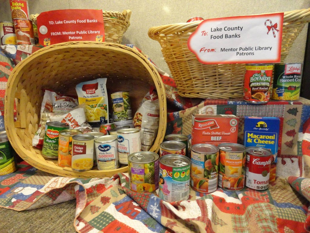 Thanks to everyone who donated to our annual Can Your Fines food drive.