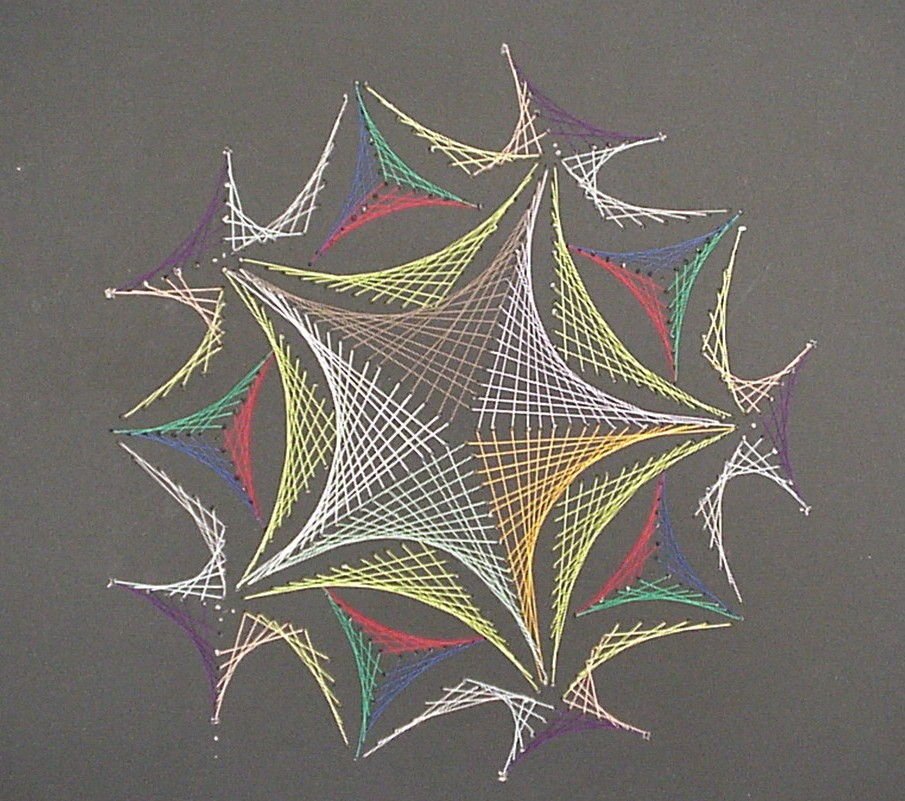 Teens can make their own string art on March 1 at our Lake Branch.