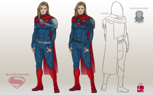 Supergirl Costume Concept Art by Bree Salmassy