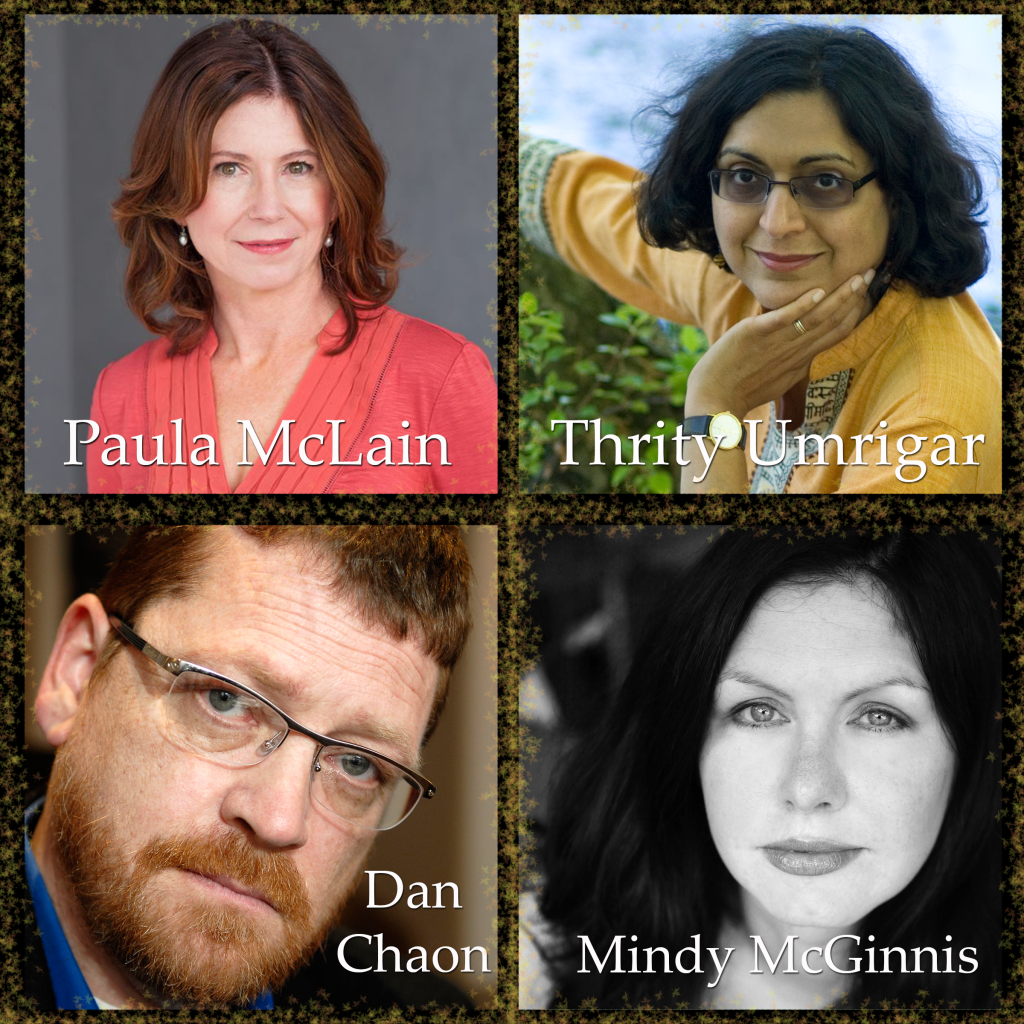 Thrity Umrigar, Paula McLain, Dan Chaon, and Mindy McGinnis will be speaking at Mentor Public Library this year.