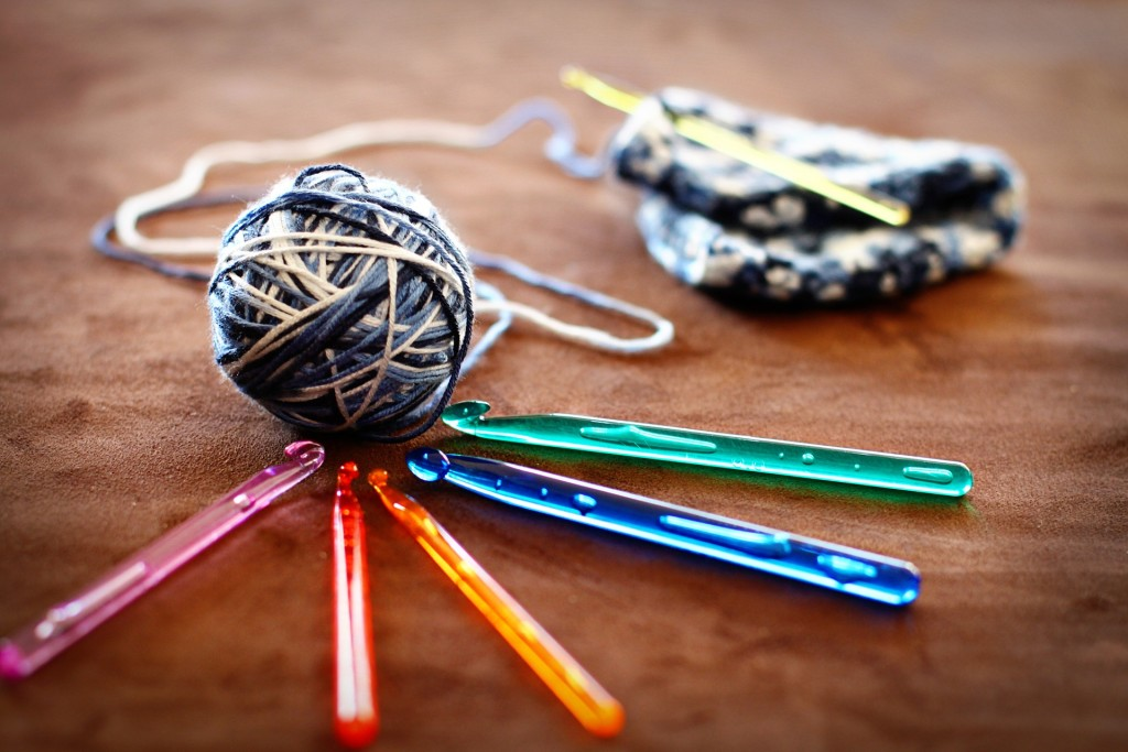 Teens can learn how to crochet with us on Wednesday, May 3, at our Lake Branch.