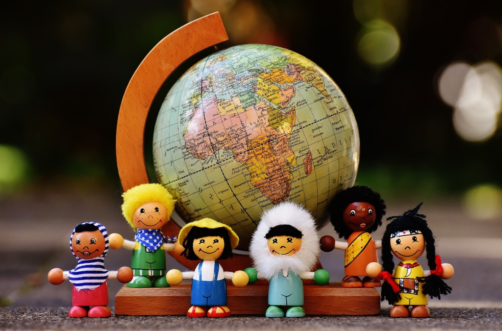 Kids can learn about countries from all around the world during a special program on Wednesday, July 12, at our Read House.