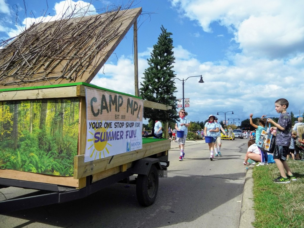 We take you back to summer camp during the CityFest Parade.
