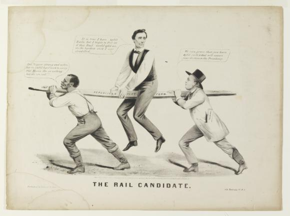 See how political cartoons were used by all ideologies during the Civil War.