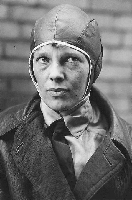 Learn about Amelia Earhart and other famous female aviators this November at Mentor Public Library.
