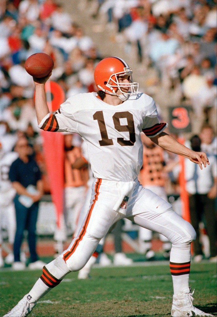 Legendary Browns QB will discuss and sign his new book on Wednesday, Dec. 13, at Mentor Public Library.