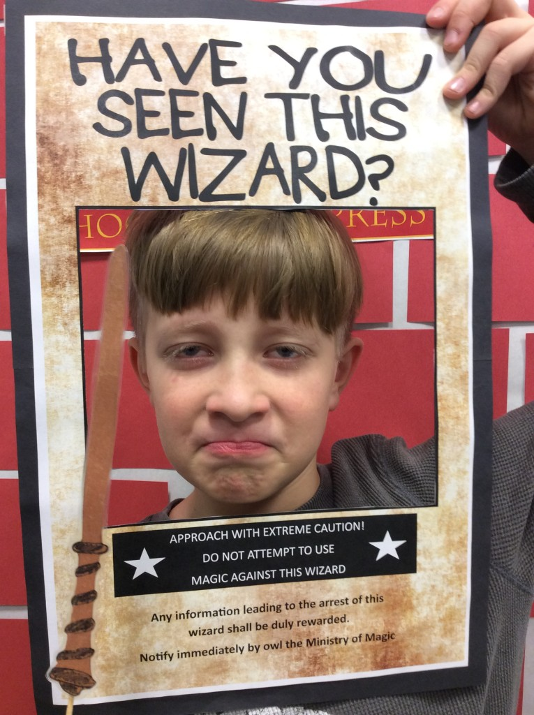 You could find this wizard at the Harry Potter Holiday Party at our Lake Branch.