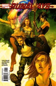 "Read Brian K. Vaughan's ""Runaways"" and more for free on Hoopla."