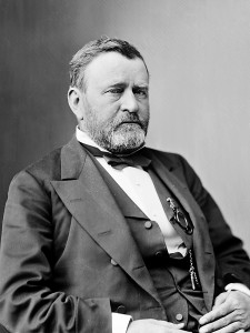 Ulysses Grant, one of the seven Civil War veterans who served as president of the United States.