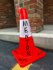 You can now borrow traffic cones from Mentor Public Library.