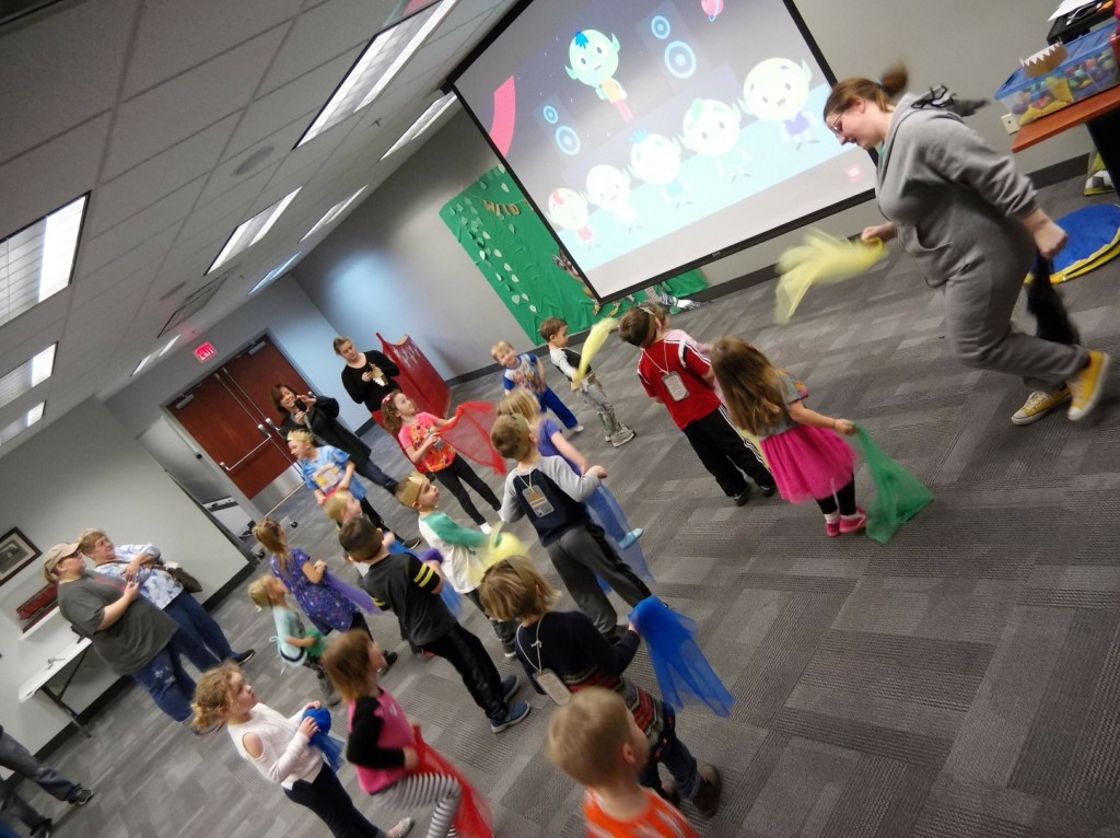 Kids can shake their sillies out during our Preschool Dance Party on Monday, Sept. 24.