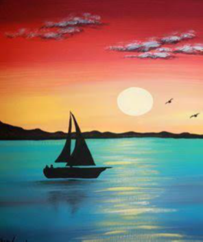 Learn how to paint seascapes like an English Romantic during a special workshop on Oct. 10 at Mentor Public Library.