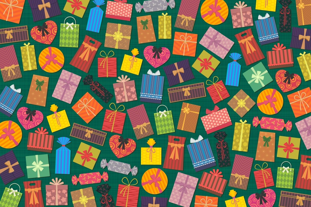 Wrap your gifts with friends at the library on Saturday, Dec. 15.