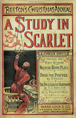 """Read """"A Study in Scarlet"""" with Sherlocked, our brand-new book club for fans of Sherlock Holmes."""