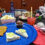 Our own Ms. Kim knows how to throw a tea party.