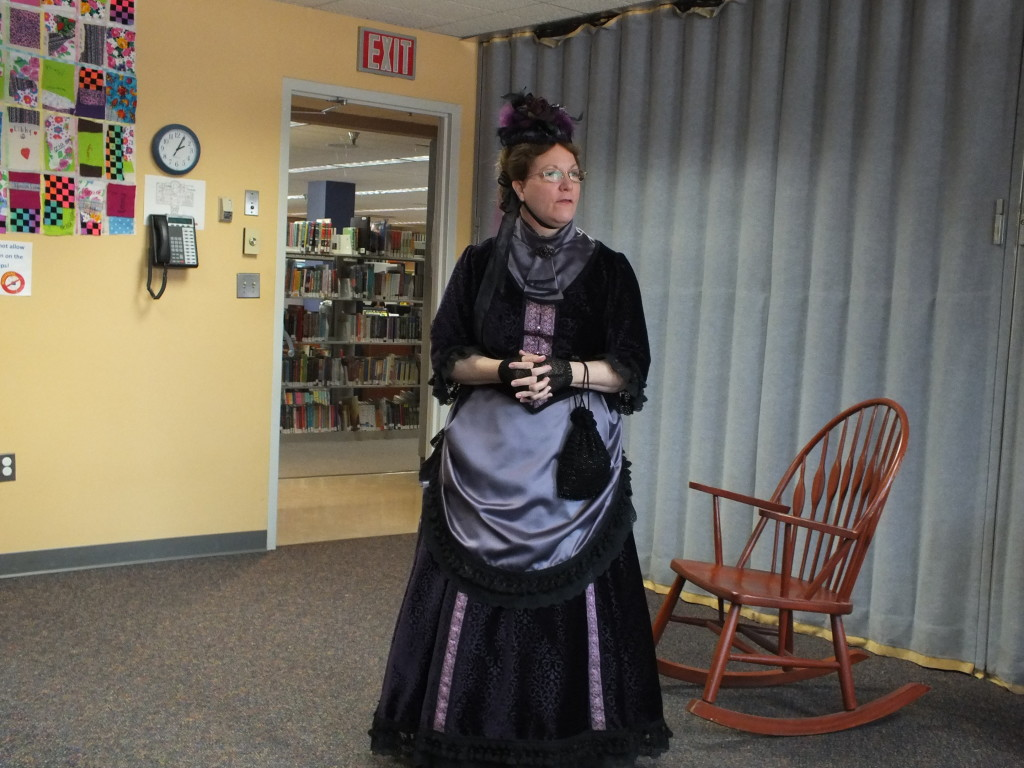 Families can have tea with First Lady Lucretia Garfield and her son, James R. Garfield, during a special program on Saturday, Feb. 9, at Mentor public Library's Main Branch.