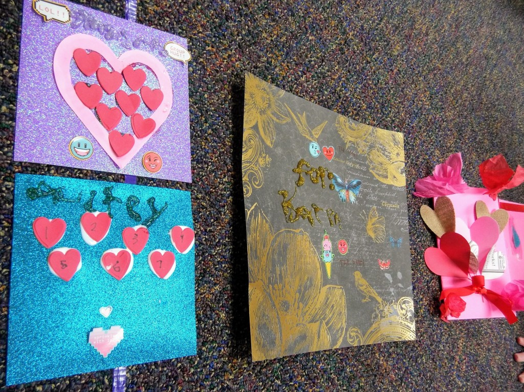 Our Masterpieces at Main Art Club got in the spirit of the holiday.