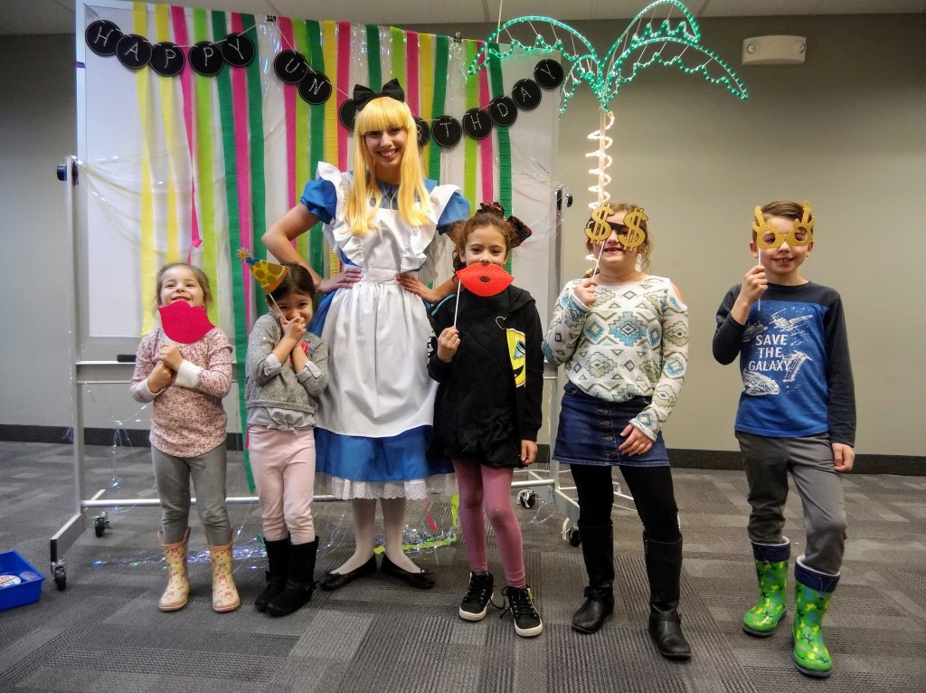 The Un-Birthday Party becomes un-stoppable when Alice shows up.