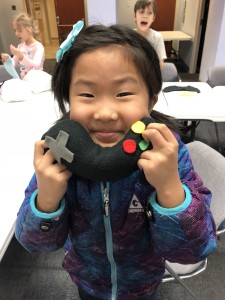 Kids can learn how to sew during our Sew Much Fun program at Mentor Public Library.