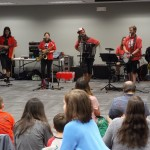 The Chardon Polka Band helps us celebrate the start of Summer Reading.
