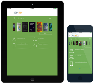 Download the CLEVNET app and always have access to the combined collection of 46 library systems.