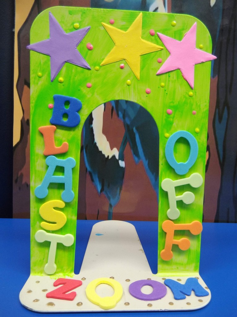 Kids can customize their own bookends on Wednesday, July 10, at Mentor Public Library's Main Branch.