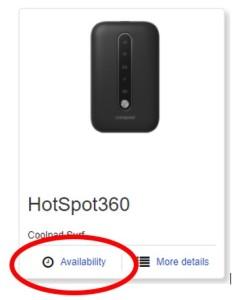 HotSpot Availability