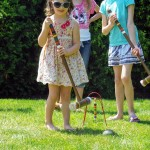 A lovely afternoon for a little croquet